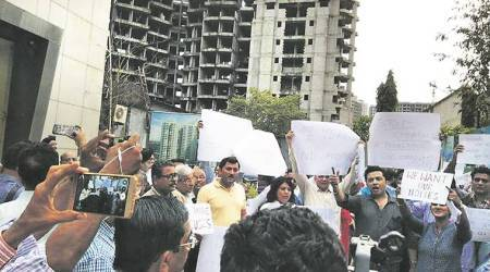 Home buyers angry with over six-year delay in project in Mumbai