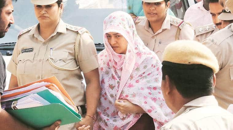 Honeypreet, Honeypreet arrested, Gurmeet Ram Rahim Singh, Honeypreet Insan, Dera Sacha Sauda, Panchkula court, India news, Indian Express