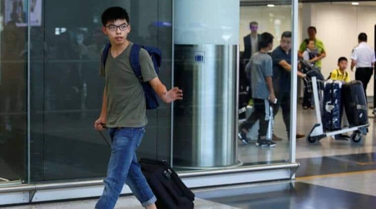 Joshua Wong, Hong Kong, hong Kong activist, Contempt of court, Hong kong activist, world news
