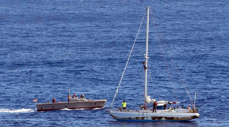 US trying to rescue 24 fishing crew on remote Pacific atoll