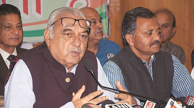 Bhupinder Singh Hooda hits out at BJP government