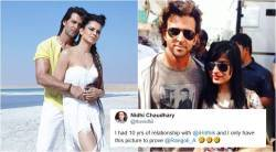 hrithik roshan, kangana ranaut, kangana hrithik affair, kangana hrithik photo, rangoli chandel, had affair with hrithik, hrithik roshan arnab interview, entertainment news, viral news, bollywood news, indian express