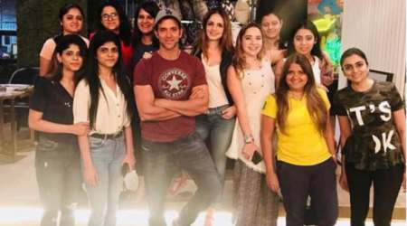Hrithik Roshan and Sussanne Khan reunite at The Charcoal Project. See photos