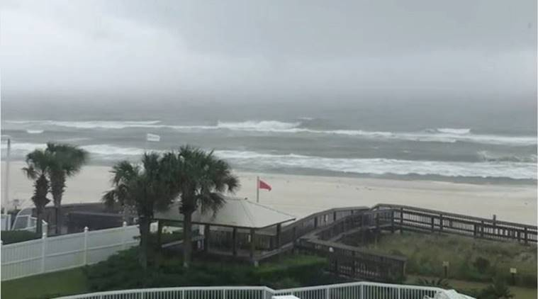 Hurricane Nate makes landfall in US after wrecking havoc in Central America