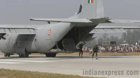 IAF planes carry out emergency landing drill on Lucknow-Agra Expressway