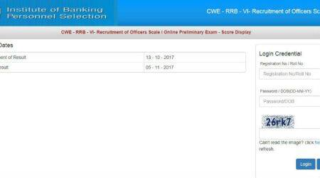 IBPS RRB officer scale I scores declared at ibps.in