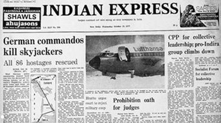 Forty Years Ago, Mogadishu airport, Lufthansa jetliner, Mogadishu Hostage, Mogadishu Hostage Issue, Skyjackers, Editorial News, Indian Express, Indian Express News