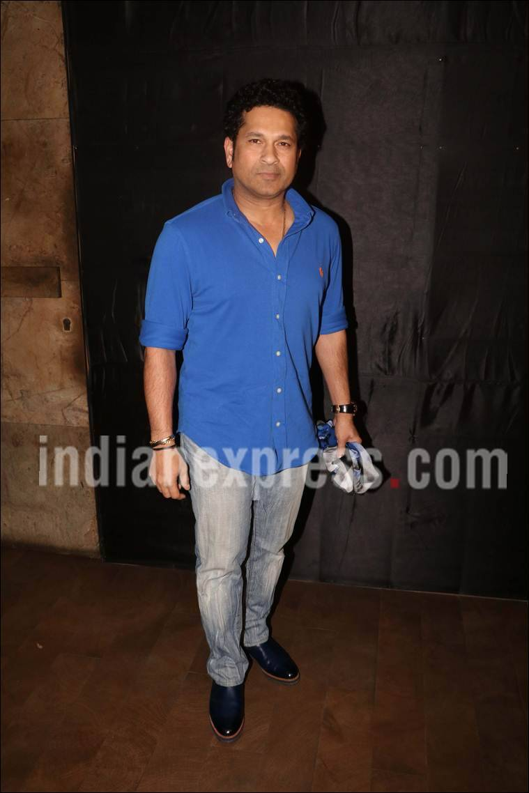 sachin tendulkar, sachin tendulkar secret superstar, secret superstar screening