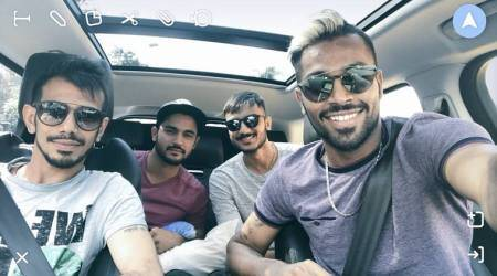 India vs New Zealand, 2nd ODI: Hardik Pandya, Yuzvendra Chahal, Manish Pandey and Axar Patel take road trip