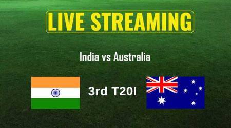 India vs Australia 3rd T20I Live Online Streaming: IND vs AUS T20 live TV coverage, when and where to watch India vs Australia 3rd T20I match