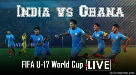 India vs Ghana football match LIVE SCORE and updates, FIFA Under 17 World Cup 2017: India trail 0-1, look for equaliser