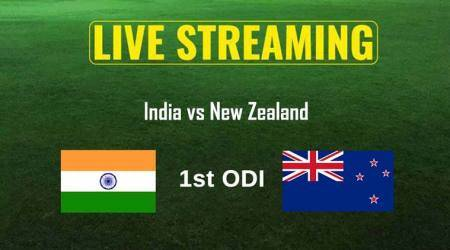 India vs New Zealand 1st ODI Live Online Streaming: IND vs NZ ODI live TV coverage, when and where to watch India vs New Zealand 1st ODI match