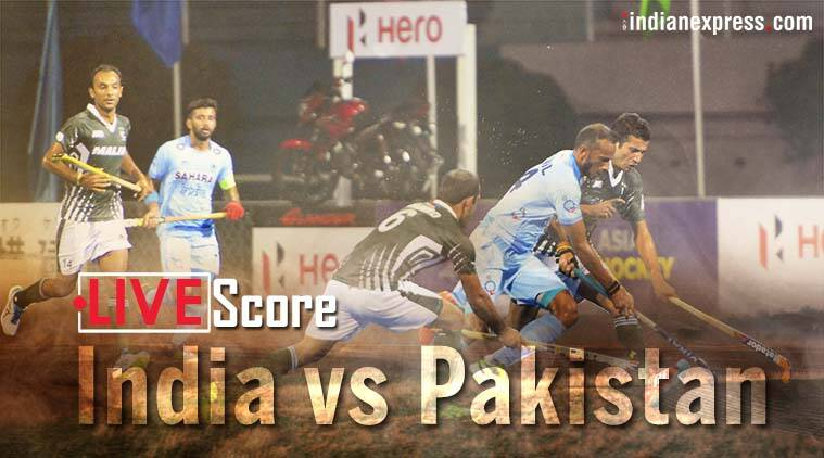 India vs Pakistan Live Score, Asia Cup Hockey: India look to seal final berth against Pakistan