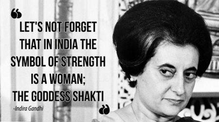 Indira Gandhi, indira gandhi quotes, indira gandhi assassination, indira gandhi death anniversary, powerful quotes by indira gandhi, motivational quotes by indira gandhi, indian express, indian express news