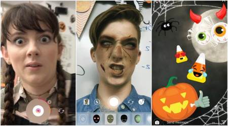 Instagram adds Superzoom, Halloween stickers and face filters to camera