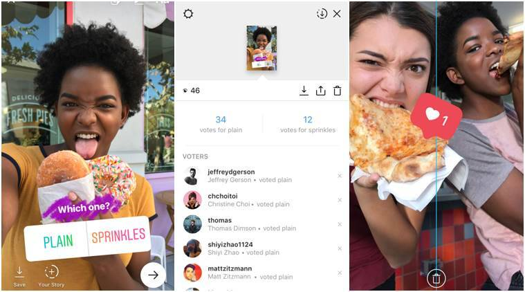 Instagram adds polling stickers to Stories