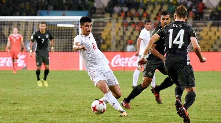 FIFA Under-17 World Cup, Iran vs Costa Rica, Abbas Chamanian, Breansse Camacho