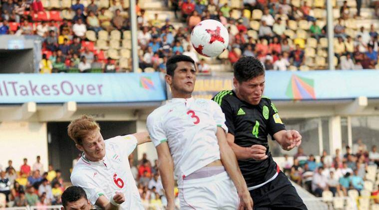 fifa u17 world cup, under 17 world cup, fifa u17 wc, iran vs mexico, football news, sports news, indian express