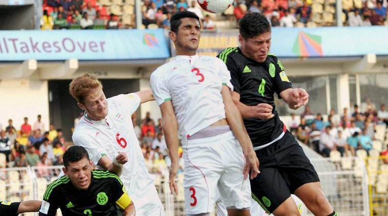 FIFA U-17 world Cup, FIFA U-17 world Cup schedule, Mexico vs Iran, sports news, football, Indian Express