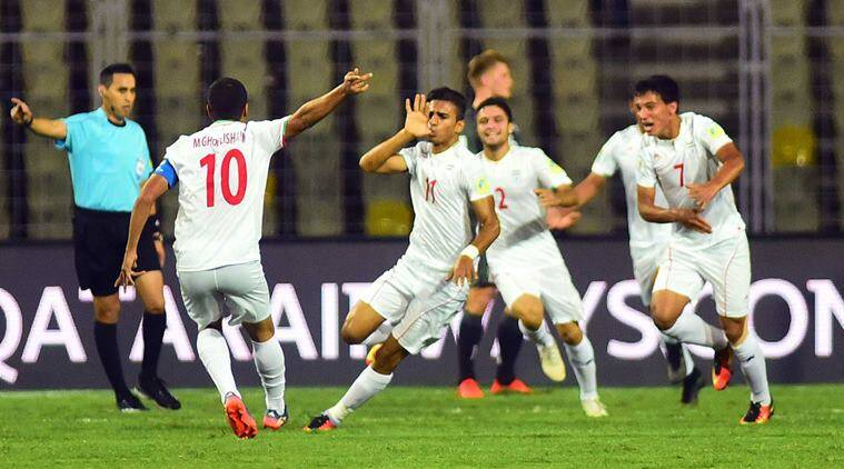 FIFA U-17 World Cup, Abbas Chamanyan, Iraq, Abbas Chamanyan Iraq, sports news, football, Indian Express