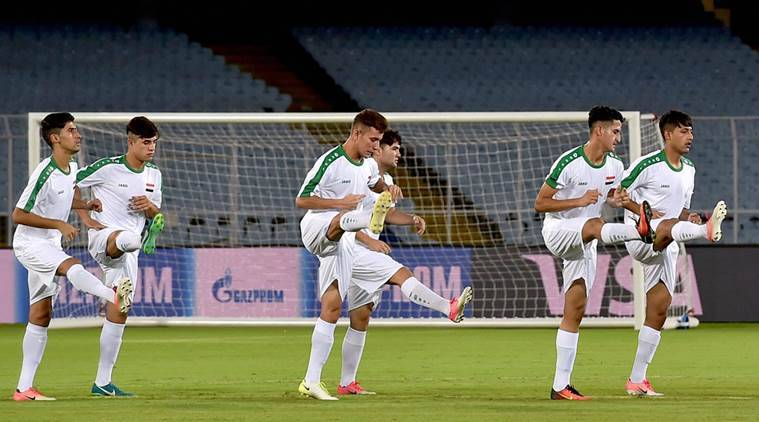 iraq u-17, fifa u-17 world cup, u-17 world cup, iraq u-17 preparations, iraq u-17 travel, football, sports news, indian express