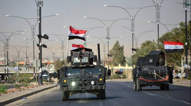 Kirkuk oil fields, Iraq captures Kirkuk oil fields, Iraq Kurd dispute, Iraq forces, Kurdish region, world news, indian express news
