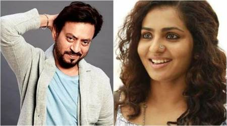Irrfan Khan to star with Malayalam actor Parvathy in his next Qarib Qarib Singlle