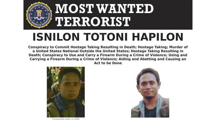 Philippines, philippine troops, pro-islamic state leaders, pro-IS leaders killed, Isnilon Hapilon, IS emir, world news, indian express news