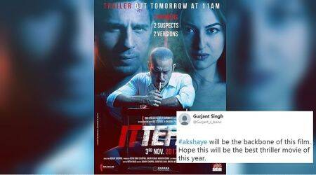 Ittefaq trailer: Twitterati love Akshaye Khanna more than Sonakshi Sinha and Sidharth Malhotra