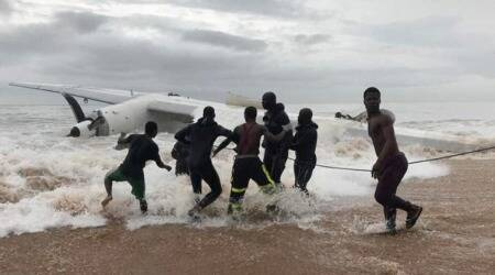 At least four dead in plane crash off Ivory Coast: Securitysources
