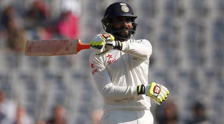 Ravindra Jadeja hits six sixes in an over in Saurashtra Cricket Association tournament