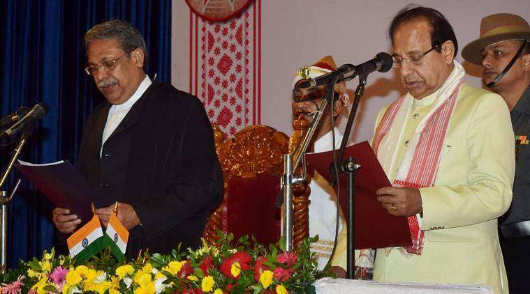 assam, Jagdish Mukhi, assam governor, Andaman & Nicobar Lt Governor, Jagdish Mukhi swearing in, assam government