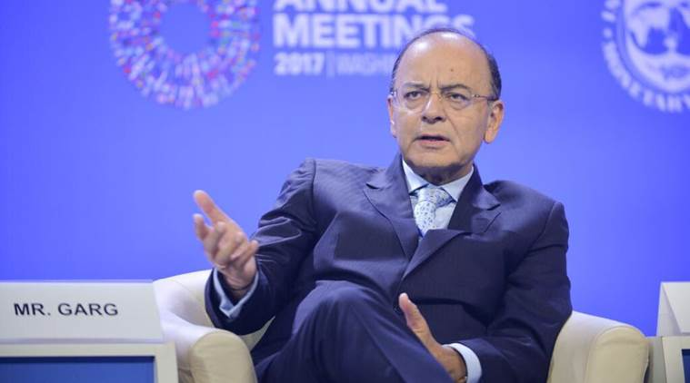 Arun Jaitley, IMF meet, Jaitley on Indian Economy, Jaitley IMF, Christine Lagarde, Indian Economy, Business news, Indian Express