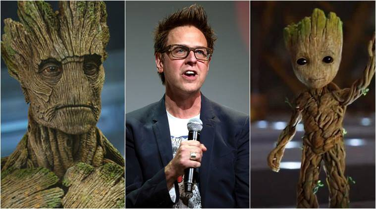 james gunn, baby groot, groot, james gunn baby groot, james gunn groot
