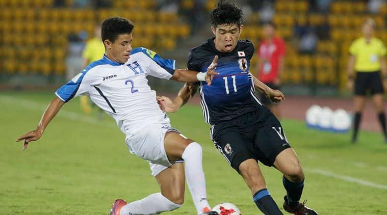 fifa u 17 world cup, japan vs honduras, u 17 world cup scores,
