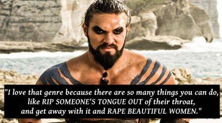 VIDEO: GOT's Khal Drogo aka Jason Momoa made a 'distasteful' RAPE joke in 2011