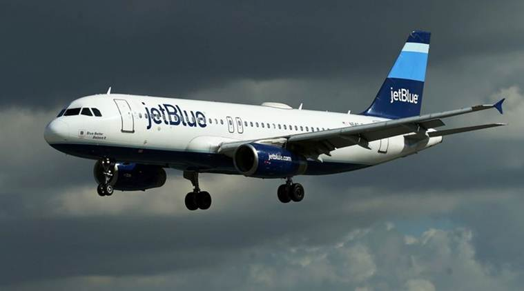 JetBlue plane, JetBlue Flight 877, John F Kennedy International Airport, JFK International Airport, World News, Latest World News, Indian Express, Indian Express News