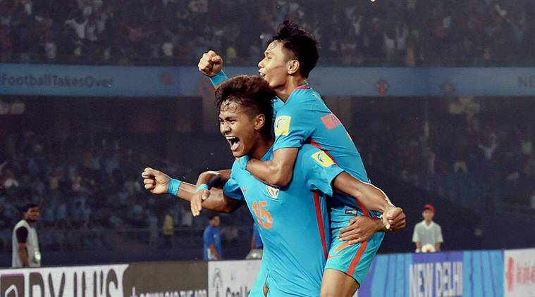Ghana trounce India 4-0 in final group match