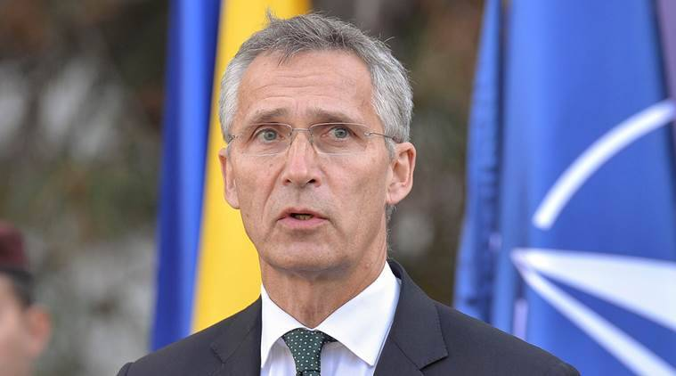 Nato Chief Says Allies Keen To Avoid Arms Race With Russia