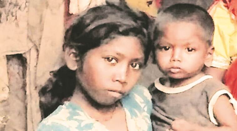 starvation death, jharkhand village, malnutrition, aadhaar card, ration without aadhaar card, child hunger, santoshi, 11 yr old girl dies of starvation, aadhaar card starvation death, icds, indian express