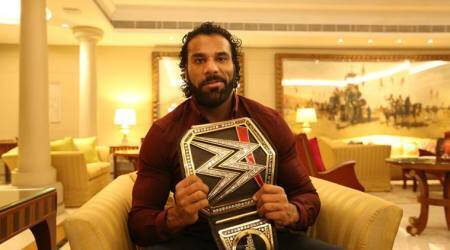 There will be pressure to perform in India but I shall thrive on it, says Jinder Mahal