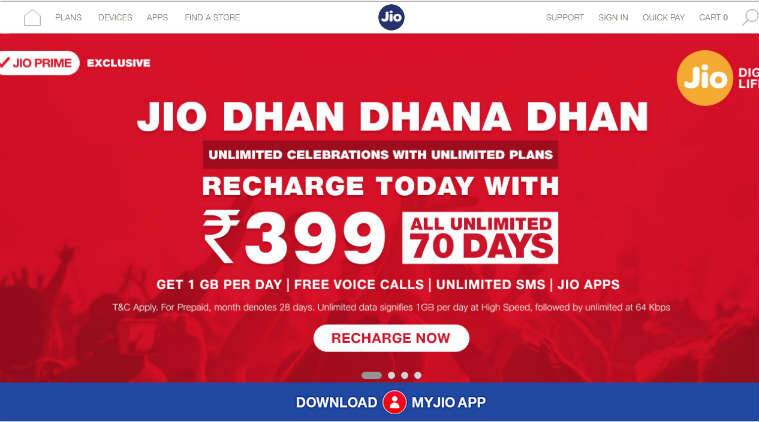 Reliance Jio, Vodafone, Airtel 4G plans compared: Here are the most value for money packs you can optfor