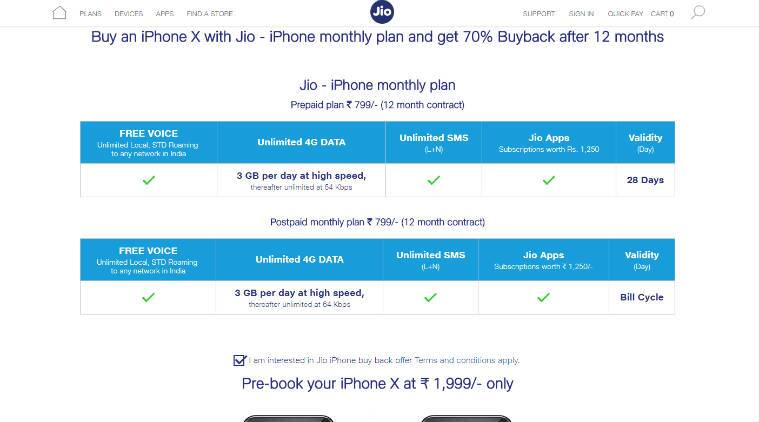Apple, iPhone X, Apple iPhone X, iPhone X buyback offer, iPhone X Reliance Jio buyback offer, Jio 70 percent buyback iPhone X, Jio Buyback offer iPhone X, Reliance Jio iPhone 8 buyback offer, iPhone 8 Plus buyback Jio, get 70 percent cashback iPhone X, buy iPhone X, iPhone X India price, iPhone X India preorder, Apple news