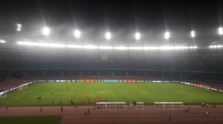 FIFA u17 world cup, U 17 world cup venues, Salt Lake stadium, JLN stadium, Fatorda Stadium, Football news, Indian Express