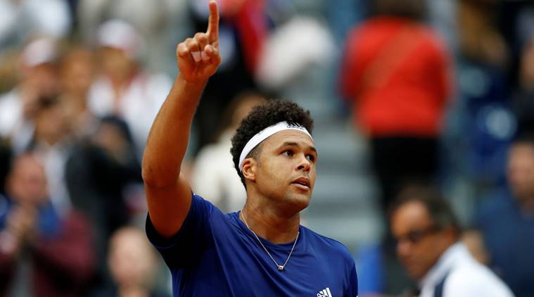 Jo-Wilfried Tsonga, Philipp Kohlschreiber, Erste Bank Open, sports news, tennis, Indian Express