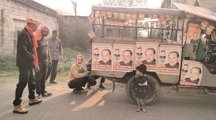 himachal pradesh elections 2017,Joginder Nagar, Gulab Singh Thakur, , amit shah himachal elections, chief minister virbhadra singh , narendra modi, amit shah chamba, himachal elections bjp campaign, india news, indian express news