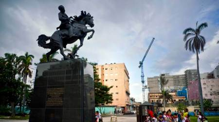 Cuba unveils Jose Marti statue, a gift from Donald Trump's hometown