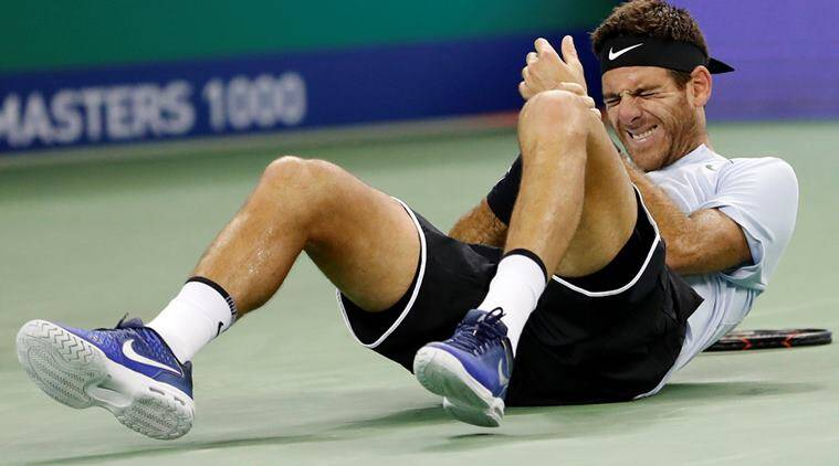Juan Martin Del Potro goes for scan after wrist hurt in fall in Shanghai Masters