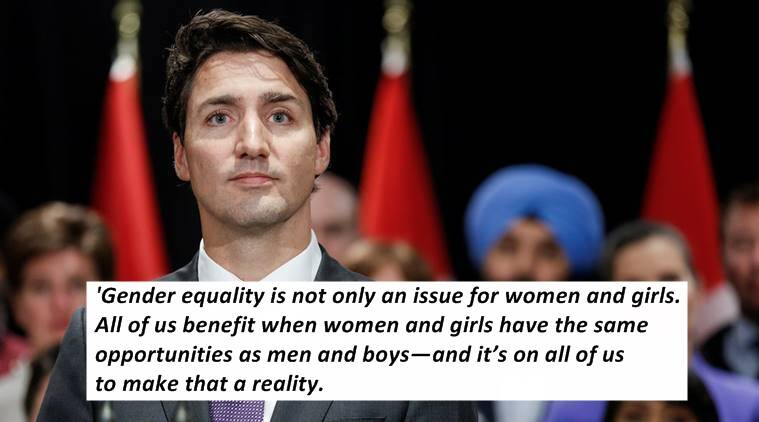 Justin Trudeau Writes About The Importance Of Raising Children As  Justin Trudeau Justin Trudeau On Feminism Justin Trudeaus Essay On  Feminism Justin Trudeau