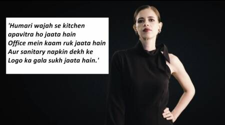 VIDEO: Kalki Koechlin gives GST a new meaning with respect to sanitary pads
